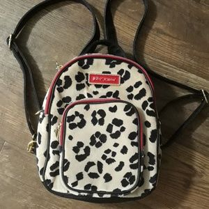 Betsey Johnson small packpack